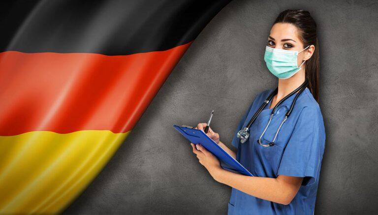 Njemačka medicinska radnica